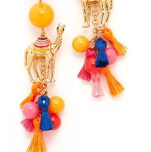 Kate Spade Spice Things Up Camel Earrings